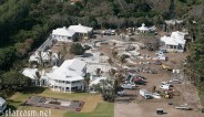 Aerial photo of the Florida home of Celine Dion and husband Rene Angelil