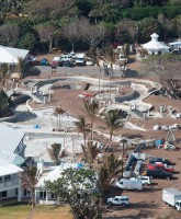 November 21 2009 aerial photo of Celine Dion's Jupiter Island estate under construction