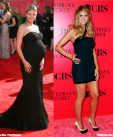 Heidi Klum Before And After Pregnancy thumbnail