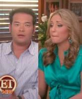 Jon and Hailey on Entertainment Tonight
