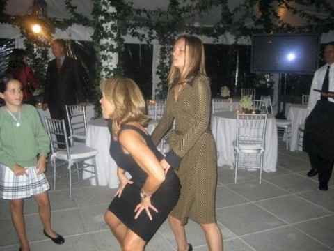 Katie Couric gets low dancing pics