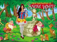 Kim Kardashian in Snow White