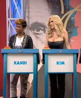 Kandi and Kim on Jay Leno