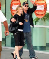 Charlie Sheen and wife Brooke Mueller May 21, 2009