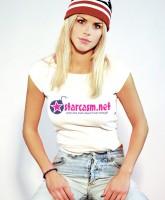 Elin Nordegren Woods models a starcasm.net t-shirt