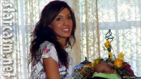 Teen Mom Farrah Abraham brings a boyfriend home to meet the parents