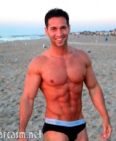 The Situation had his infamous six-pack abs long before Jersey Shore