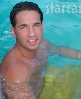 Mike Sorrentino The Situation myspace picture 9 in a swimming pool