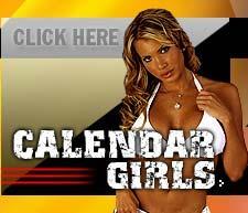 Loredana Jolie calendar photo