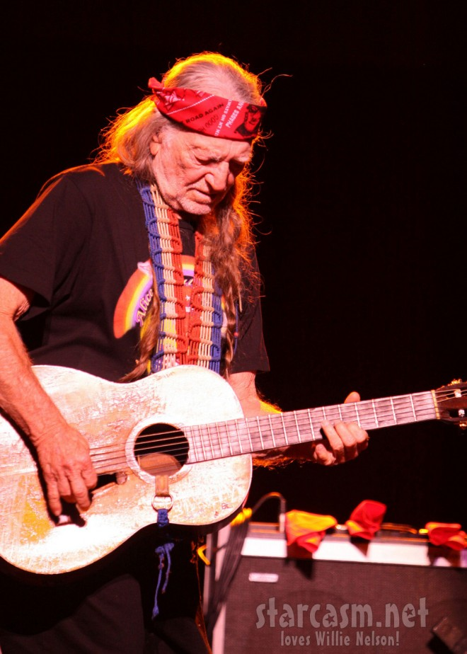 Willie Nelson and Family perform at Arena Theater in Houston 1-8-10 Picture Seventeen