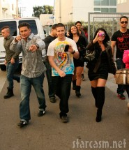 Pauly D, Vinny, Angelina and the rest of Jersey Shore invaded California January 16