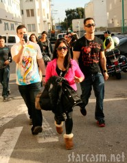 Jersey Shore cast in Venice Beach lead by Snooki, The Situation and Vinny