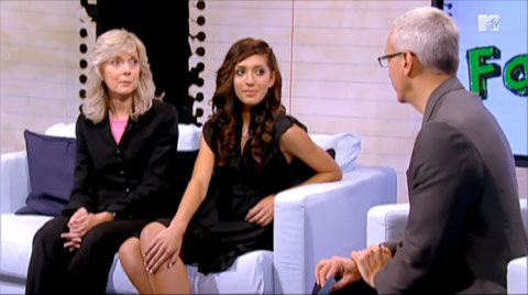 Farrah Abraham, mother Debra Danielsen and Dr. Drew