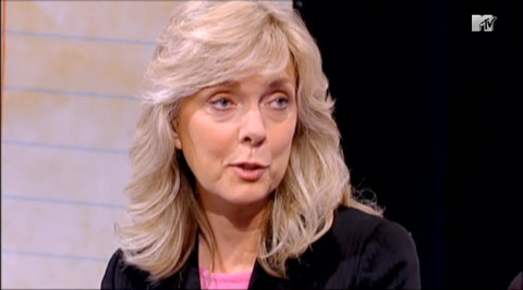 Teen Mom Farrah's mom Debra Danielsen from the Reunion special
