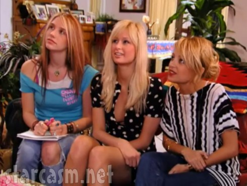 Kesha Paris Hilton and Nicole Richie on The Simple Life