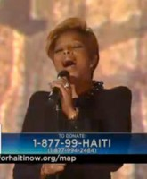 Mary J Blige delivers a soulful rendition of Hard TImes on the Haiti relief telethon