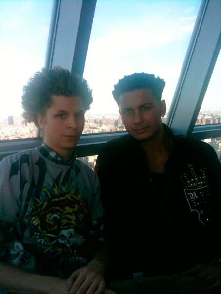 Michael Cera gets a Jersey Shore The Blowout hairdo from DJ Paul DelVecchio