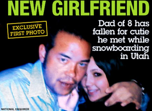 Morgan Christie is Jon Gosselin's new girlfriend according to The National Enquirer