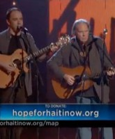 Neil Young and Dave Mattews perform Alone and Forsaken together