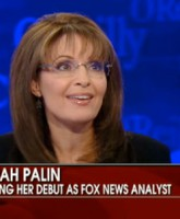 Sarah Palin makes her debut on Fox News