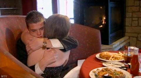 Tyler and Catelynn hug after his marriage proposal