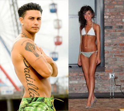 Farrah and pauly d dating