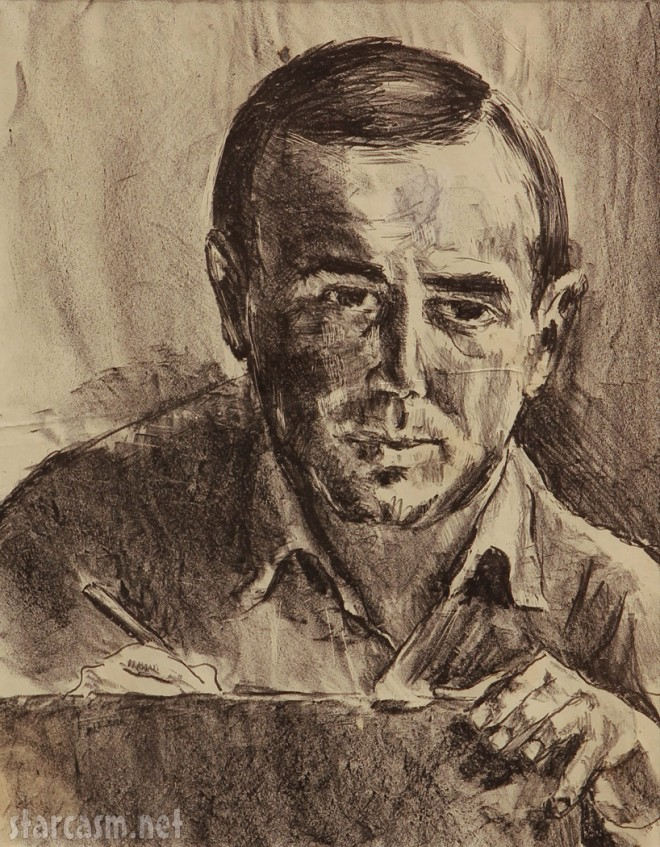 William Segal drawing