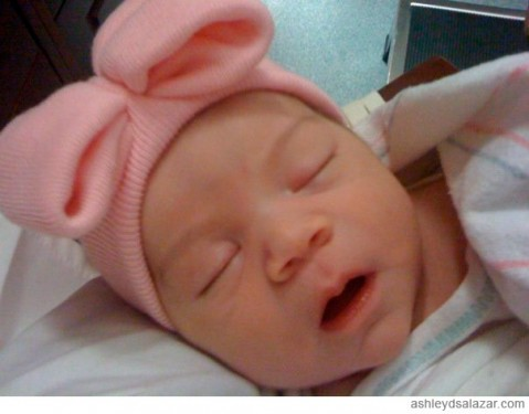 Ashley Salazar's baby Callie from 16 and Pregnant Season 3