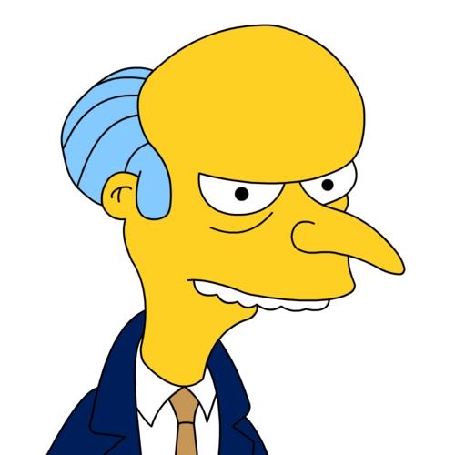 Mr  Burns looking sharp as possible Idol judgeSimpsons Characters Mr Burns