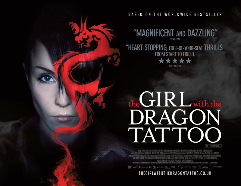 the girl with the dragon tattoo wallpaper. Movie Review: The Girl with the Dragon Tattoo (2009) April 5, 2010