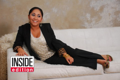 "The folks at Inside Edition gave Snooki-Snook-Snooks a ""glamorous"" makeover!"