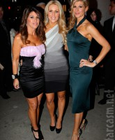 Real Housewives of OC Lynne Curtin, Gretchen Rossi and Alexis Bellino in New York