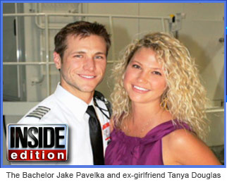 Jake Pavelka and Tanya Douglas
