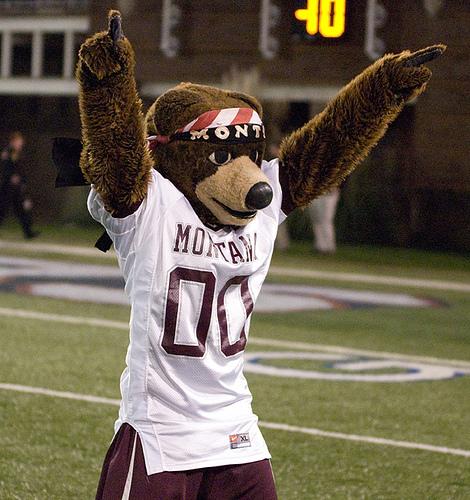 Montana Grizzlies mascot
