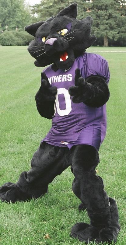 Northern Iowa Panthers mascot