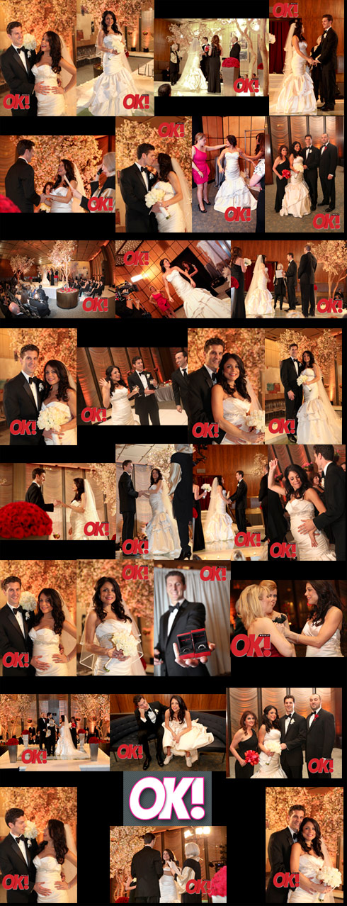 29 Bethenny Frankel wedding photos from OK! Magazine