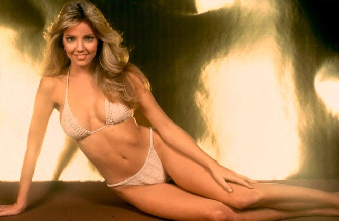 Heather Locklear 80s bikini poster photo