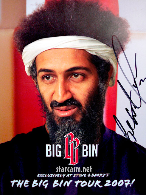 in laden company osama bin. Osama Bin Wallace!