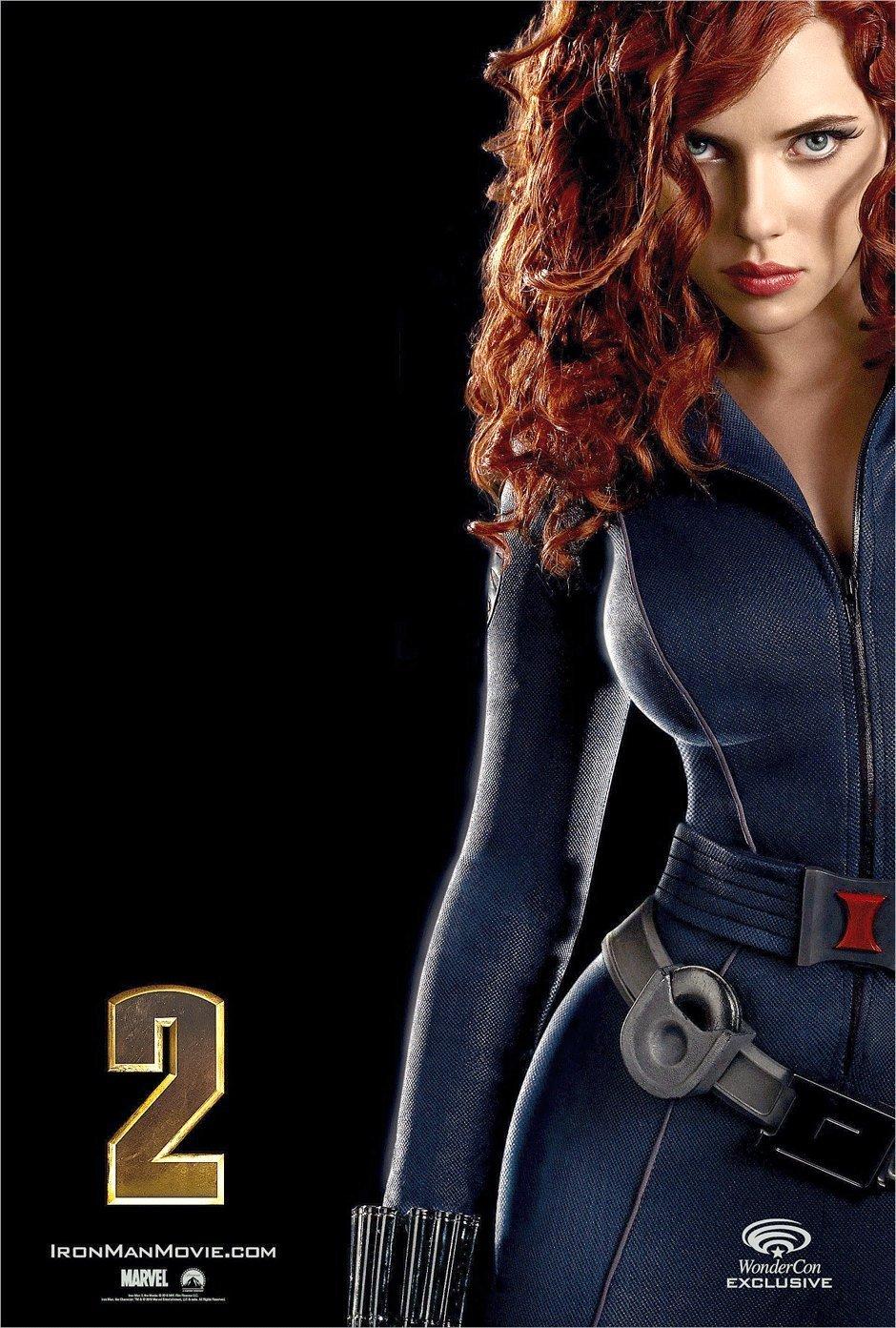 Scarlett johansson black widow poster - photo#1