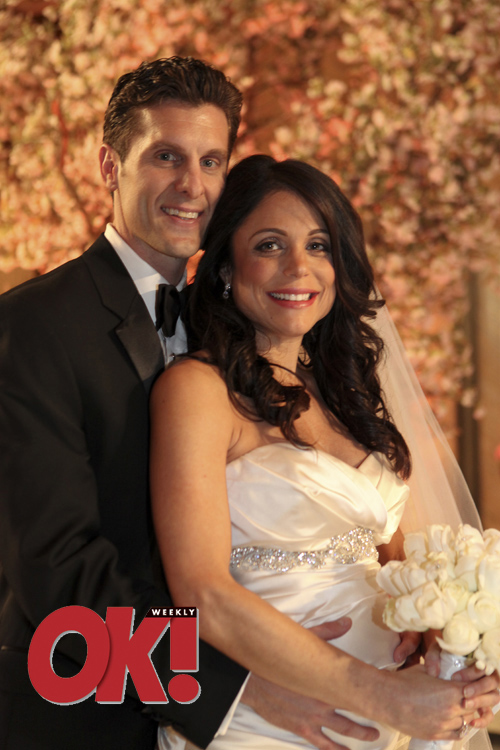 Bethenny Frankel and Jason Hoppy wedding photo