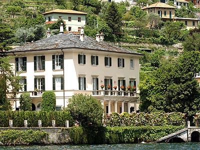 George Clooney&#039;s Italian villa