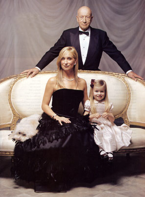 Sonja Morgan with her ex husband John Adams Morgan and their daugther