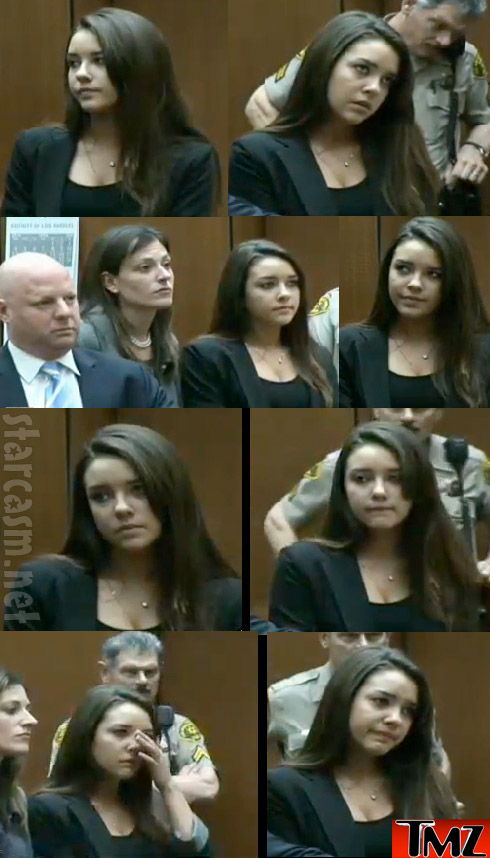 Alexis Neiers in court pleading no contest to felony burglary charges