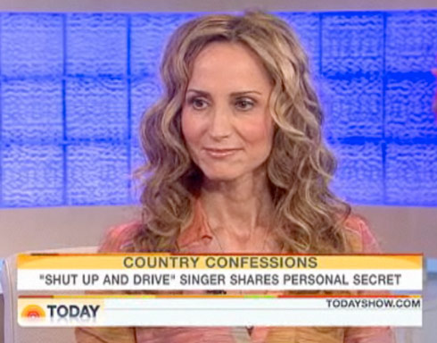 Chely Wright on The Today Show