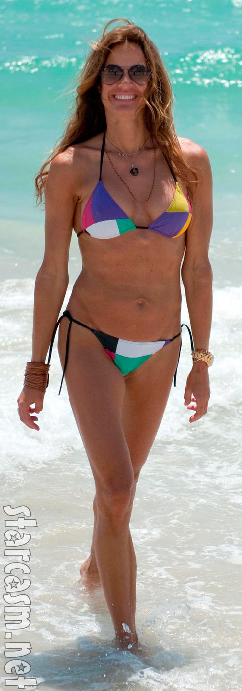 Kelly Bensimon bikini photo
