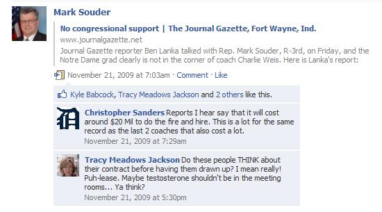 Screen Capture Ment Tracy Meadows Jackson Made Mark Souder