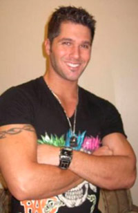Wrestler Justin Rego from The Bachelorette