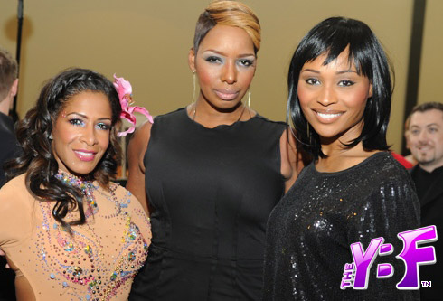 Sheree Whitfield and NeNe Leakes after her nose job