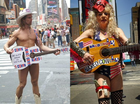 Naked Cowboy busker sues Mars for 65m - NewsComAu