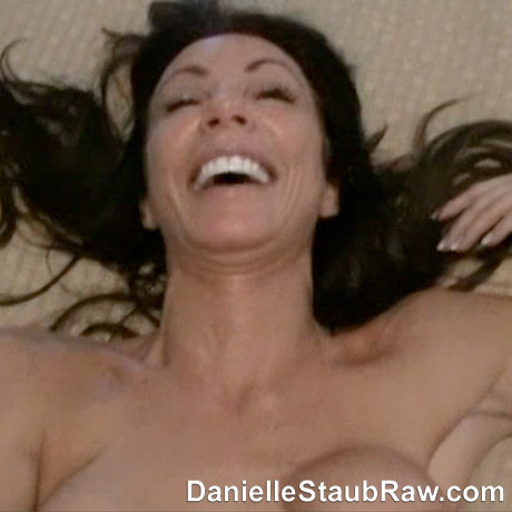 Danielle Staub having a great time while filming her sex tape